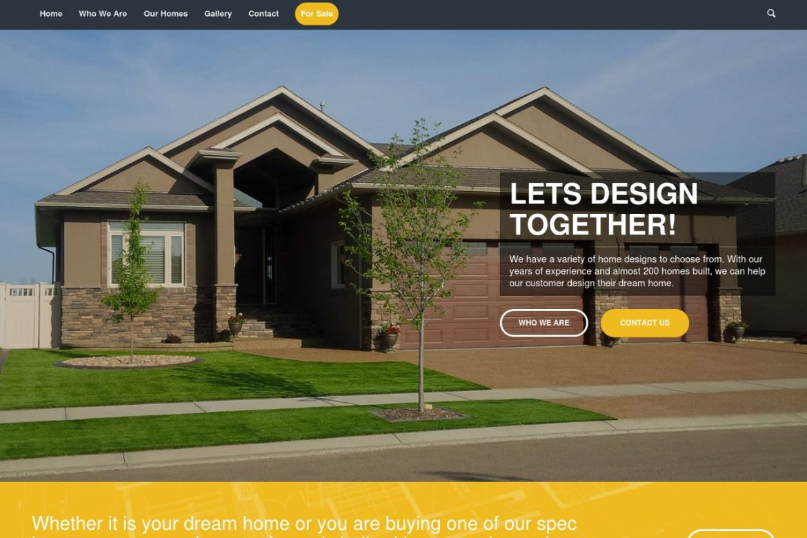 Battle River Homes Website