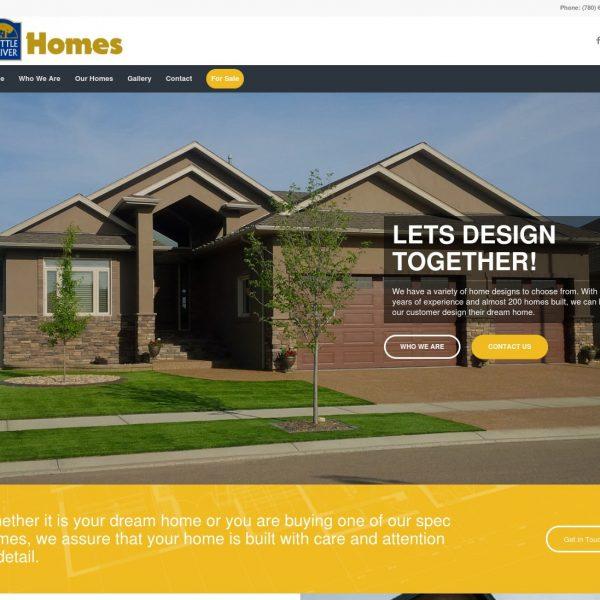 Battle River Homes Website